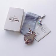平常小姐┋全新免運┋英國 vivienne westwood限量絕版收藏品釋出 土星圓酒壺形煤油打火機 最後1個