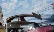 【政銓企業有限公司】BENZ W117 CLA200 250 45 抽真空碳纖維 卡夢 GT 大尾翼 現貨 免費安裝