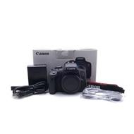 【台中青蘋果】Canon EOS 750D 單機身 二手 APS-C 單眼相機 快門次數約433 #49836