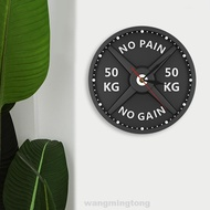 Weight Lifting Barbell 50 Kg Wall Clock