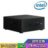 【Intel 英特爾】NUC平台【FINUC11PAHi70005】Intel四核心 SSD高速迷你電腦