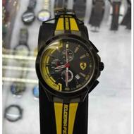 新款 Ferrari 法拉利手錶 男款時尚石英手錶 三針運動個性腕錶24小時發貨