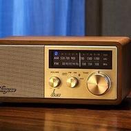 【黑豹】臺灣SANGEAN山進 WR-11BT山進收音機音響木質復古收音機