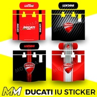 DUCATI Motorcycle IU Sticker / IU Decal
