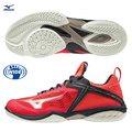【美津濃MIZUNO】WAVE CLAW NEO 寬楦半襪套式男款羽球鞋 71GA207050