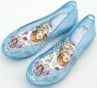 รองเท้าเด็กAERA(เอร่า) รองเท้าคัชชู ลายเจ้าหญิงโซเฟีย ลิขสิทธิ์แท้ SF B07-20 สีฟ้า