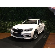 1/18 Minichamps BMW M2 Competition 2019 White 155028000【MGM】