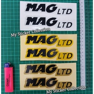 MAG LTD Helmet Sticker (set) Reflective Stickers #mag #ltd #helmets #helmet #magltd #copyori