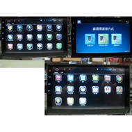保固一年7吋全觸控汽車音響安卓主機 2DIN 觸控螢幕 雙碇機 大面板主機 安卓機 1DIN 也能改改看喔 K6 K8