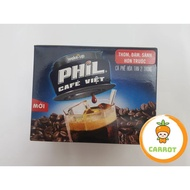 Wake-up PHIL Cafe Viet 2in1 Instant Coffee box 240g (15 packs x 16g)