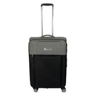WETZLARS กระเป๋าเดินทางผ้า ขนาด 24 นิ้ว B-346BK-2 สีดำ บริการเก็บเงินปลายทาง