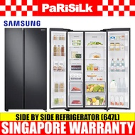 Samsung RS62R5004B4/SS Side by Side Refrigerator (647L) 2 Ticks