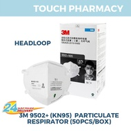 3M 9501+/ 9502 + KN95 Particulate Respirator Face Mask 50's/box