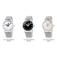 dd▸代購 KANGOL 簡約錶 金屬 手錶 銀色