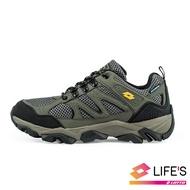 LOTTO樂得義大利第一品牌 男款Sabre 3 戶外運動鞋 越野鞋 登山鞋 [1175] 軍綠【巷子屋】