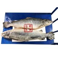 【海味嚴選】智利頂級鮭魚(整尾)---已去內臟---✦週年慶滿1500元免運中~~~✦