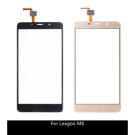 For Leagoo M8 Pro Touch Panel Repair Parts Glass Panel Touch Screen Digitizer
