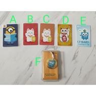 (INSTOCK) Minions Stuart/Fortune Cat/Ez-Monzee Ezlink Card/Ez-Charm