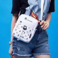 Tokidoki mini slant bag white female new 2019 fashion cute hundred phone bag bag cool music tide to
