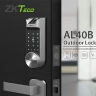 ZKTeco AL40B Smart Lock Fingerprint Door Lock Electronic Lock Smart Door Key Password /Mobile APP Outdoor Lock Biometric
