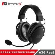 【i-Rocks】艾芮克 A36 Real 有線耳機 [富廉網]