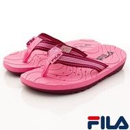 FILA斐樂頂級童鞋-氣墊機能運動鞋款-2-J830U-333 藍黃(中大童段)