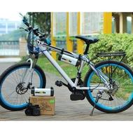 【現貨】自行車 腳踏車改裝電動車套件 無刷電機200W 改電動腳
