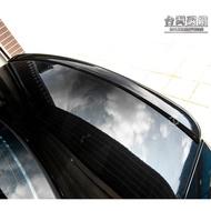TWL台灣碳纖_Benz賓士_W211 03 04 05 06 07 08 09年 AMG款烤漆黑 鴨尾尾翼 附3M膠條