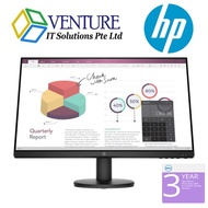 HP P24v G4 FHD Monitor- 23.8 FHD(1920 x 1080)/60Hz/Vesa Mount/ 3years warranty (Come with HDMI cable)