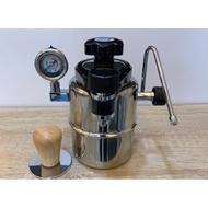 **愛洛奇**Bellman CX-25P 濃縮咖啡壺 高壓式摩卡壺 壓力錶 雙孔蒸汽
