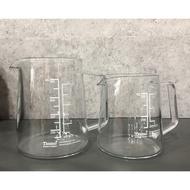Tiamo有柄玻璃量杯 燒杯300ml/500ml HG2198 HG2197『93 coffee wholesale』(230元)