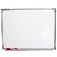 一般磁性白板 加厚 磁性白板 45cm x 60cm/一個入(定399) 正面白板背面象棋板 MIT製-上 A00152