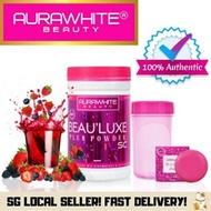 SG READY STOCK! FREE WHITENING SOAP + SHAKER! AuraWhite Beau'Luxe SC+ Premium Stemcell Collagen