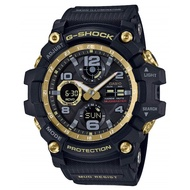 Casio G-Shock GWG-100GB-1AJF MUDMASTER Black & Gold Solar Mud Resistant Watch