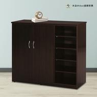 3.2尺兩門半開放塑鋼鞋櫃 防水塑鋼家具【米朵Miduo】