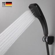 304不銹鋼超強增壓過濾花灑噴頭黑色淋浴花灑高壓水壓套裝蓮蓬頭g