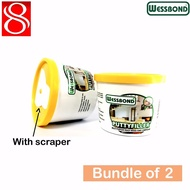 WESSBOND 500g wall putty / Instand putty filler with scraper