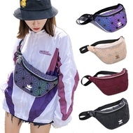 [Ready Stock] 5 Colours Adidas 3D Mesh Issey Miyake Unisex Sling Waist Chest Bag