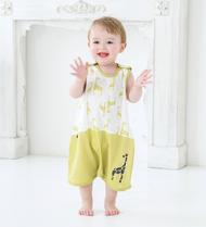 【長頸鹿長背心】 韓國童裝品牌 CORDI-I 防踢背心 睡眠背心 童裝 服飾 動物服飾 男女可穿