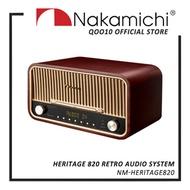 [NEW AUGUST LAUNCH] Nakamichi Heritage 820 Retro Audio System   1 YEAR WARRANTY