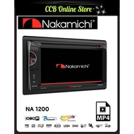 Nakamichi NA 1200 6.2 HD Screen 2-Din Car Dvd Bluetooth Player Stereo