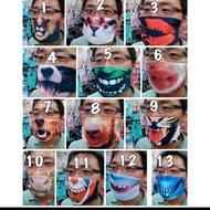 台灣製搞怪造型口罩印圖口罩口罩批發共13款