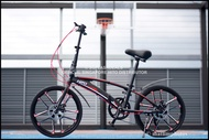 Hito X6 2021 Upgraded Magnesium Aluminium Foldable Bicycle   51cm Spoke Wheels   Official SG Hito Distributor   Local Stocks   Grey In Stock   Black & White  Deliver in 3 Days