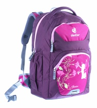 Deuter Genius M Ergonomic Kids School Bag Backpacks - Magenta Fairytale (Medium)