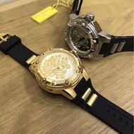 INVICTA 英威塔最龍機械手錶前後鏤空款 龍系列膠帶運動手錶 男士手錶58247570