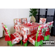 6 Sets Of Dining Table Chair Covers Dining Tablecloth Set Dining Table Cover Dining Chair Cover