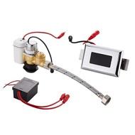 沖水感應器 全自動一體化小便器小便斗感應器配件小便池廁所沖水器沖洗電磁閥 玩趣3C