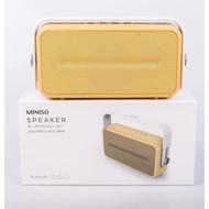 MINISO名創優品 丹麥設計師 可攜式 無線音箱 喇叭