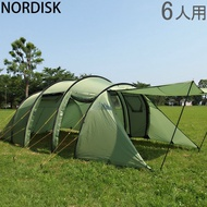 Nordisk Reisa 6 PU 綠王蟲 PUDusty Green