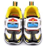 【童鞋城堡】警車LED燈運動鞋 Tomica多美小汽車(TM7792-黑)